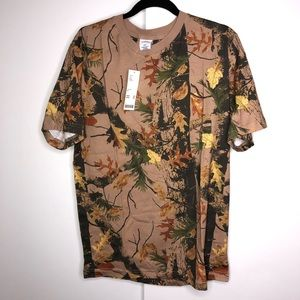 Urban Outfitters Camouflage Skater Tee Shirt Mens
